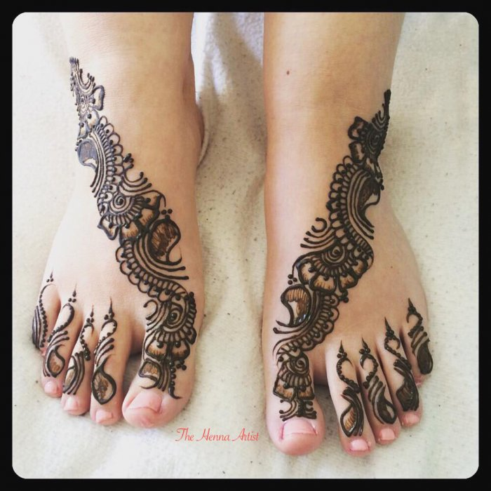 Mehndi Henna London : Henna artist east london makedes