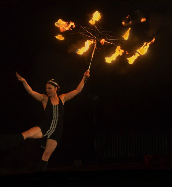 Juggling Inferno - Fire Performers Gallery