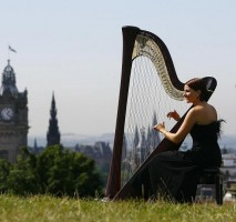 The Edinburgh Harpist