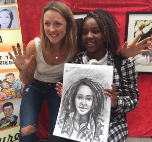 Chloe the Caricaturist