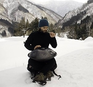 Gabriele the Handpan Player
