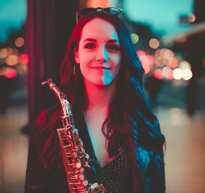 Emma On Sax