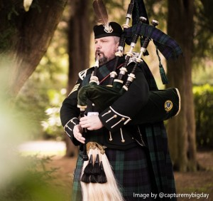 Pipe Major Andrew