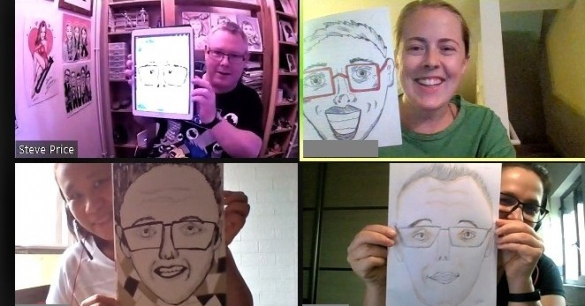 Caricature Party!