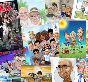 Amazing Gift Caricatures