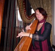 The Gloucestershire Harpist