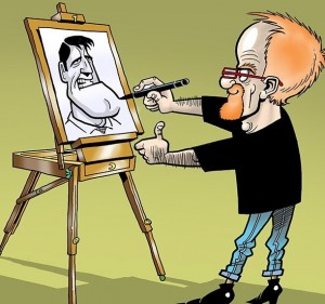 Brighty The Caricaturist