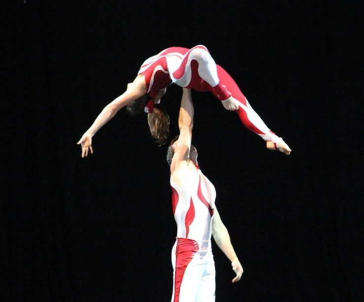 Acrobats Below Gallery
