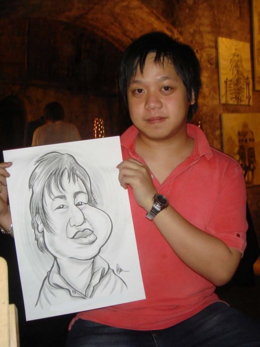 Jon-Paul The Caricaturist Gallery