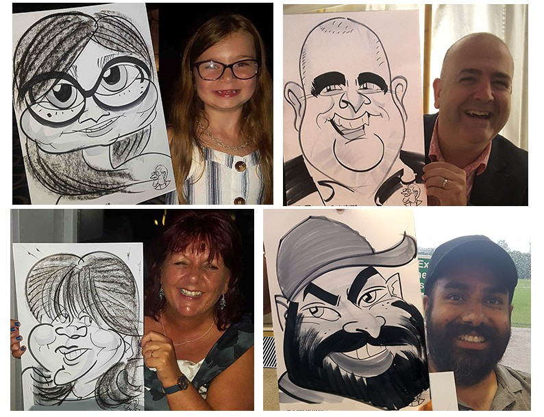 David G The Caricaturist Gallery