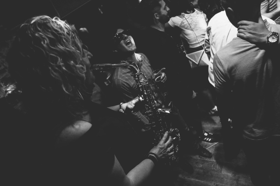 Zebra Plays Saxophone Gallery