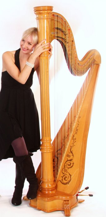 Anna The Sussex Harpist Gallery