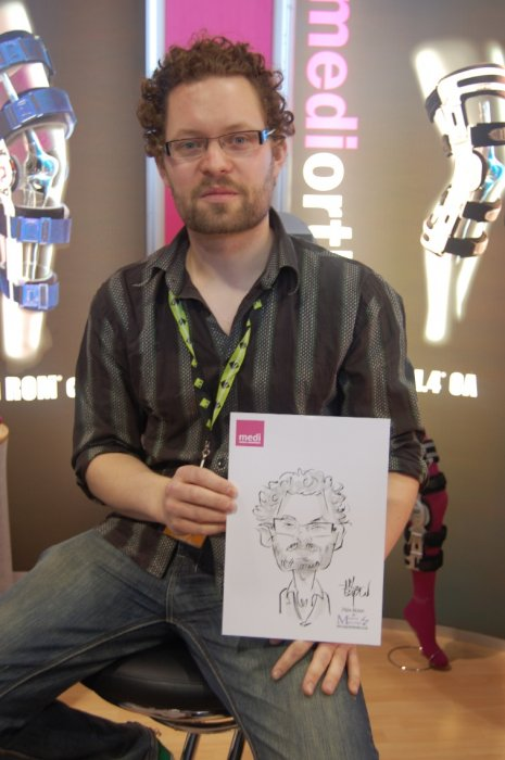 Mike B The Caricaturist Gallery
