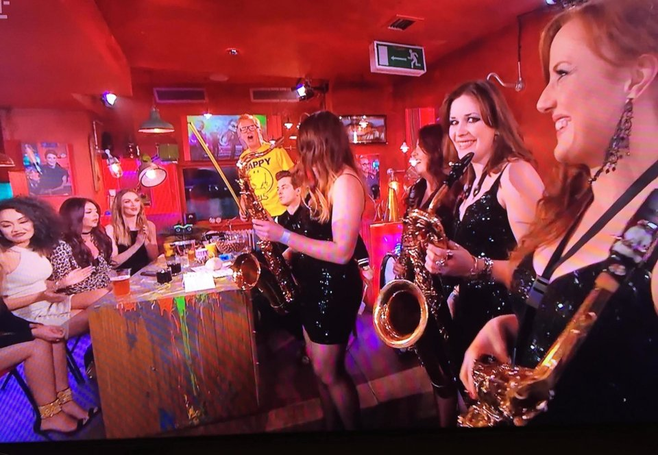Girls On Sax Gallery