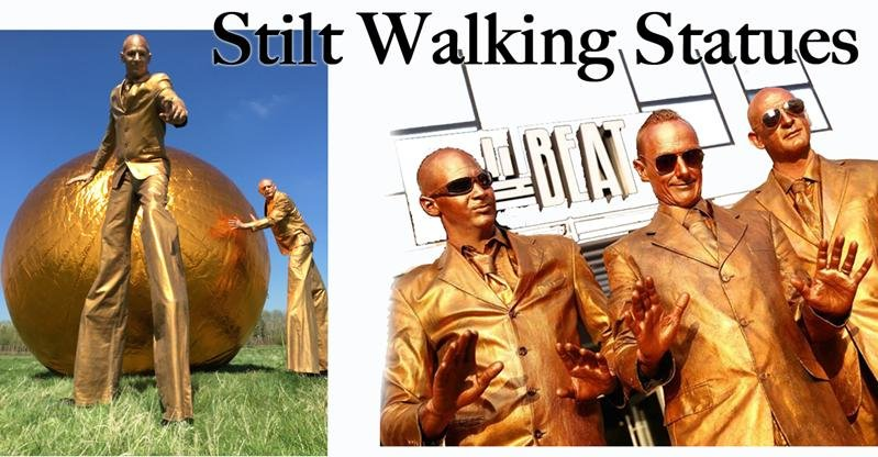 Stilt Walking Characters Gallery