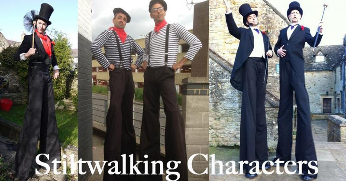 Stilt Walking Characters