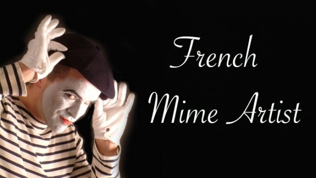 French Mime Artist