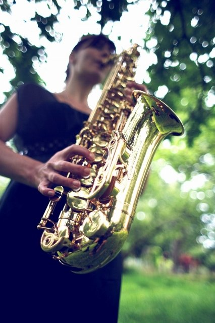 Sarah The Saxophonist Gallery
