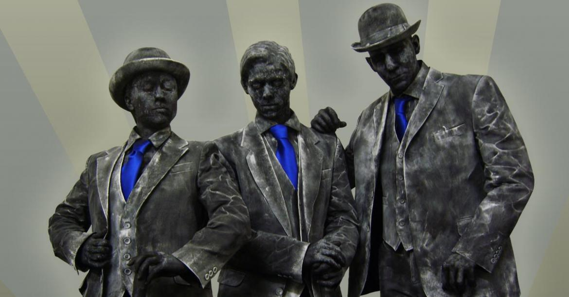 Amazing Living Statues