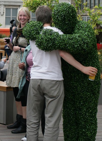 The Hedge Men - Living Trees Gallery