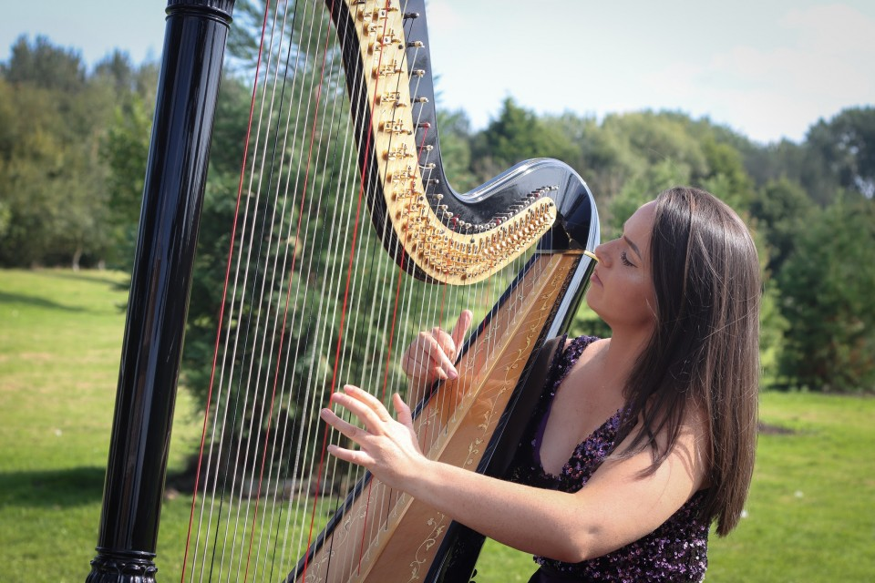 Rhia The North West Harpist Gallery