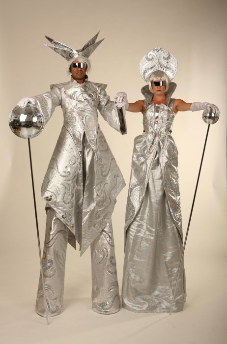 Jack In The Box - Stilt Walkers Gallery
