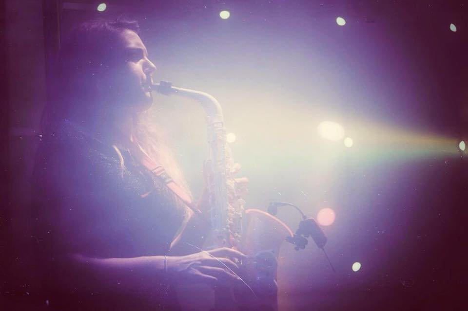Ellie The Saxophonist Gallery