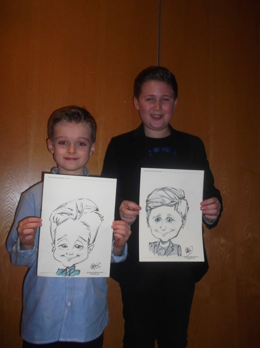 Michael the Caricaturist Gallery