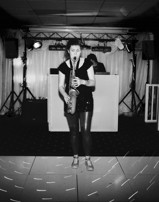 Sax Player Sarah Gallery