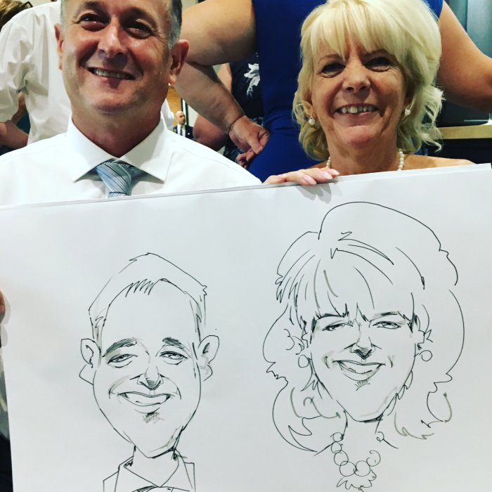 Paul the Caricaturist Gallery