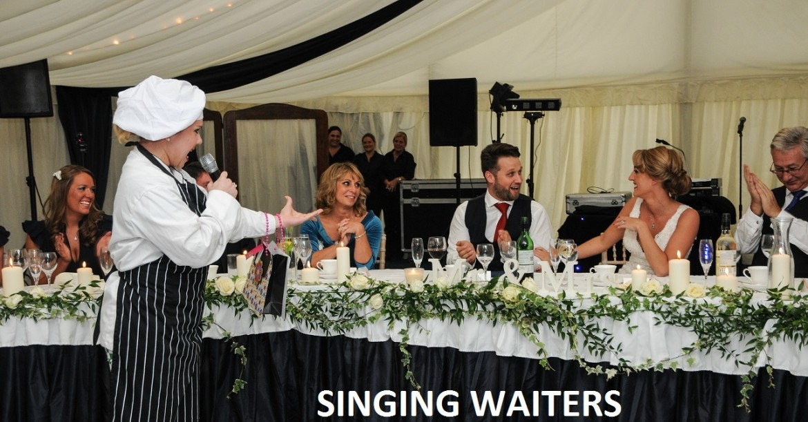 The Singing Waiters and Waitresses