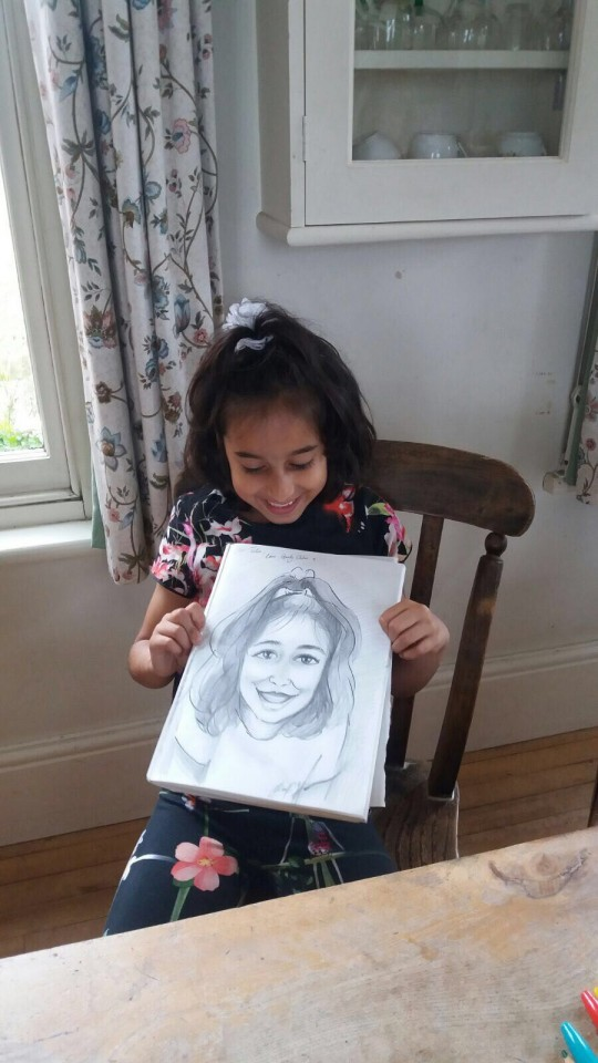 Chloe the Caricaturist Gallery
