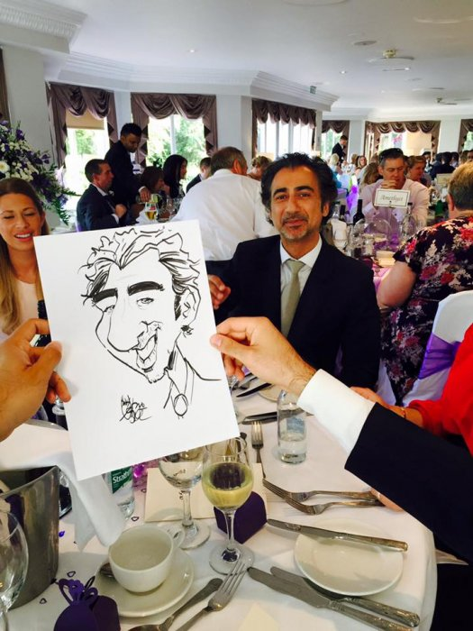 Andy the Caricaturist Gallery