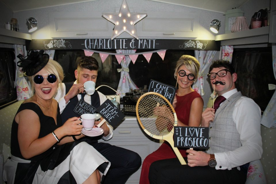 Vintage Photobooth Caravan Gallery