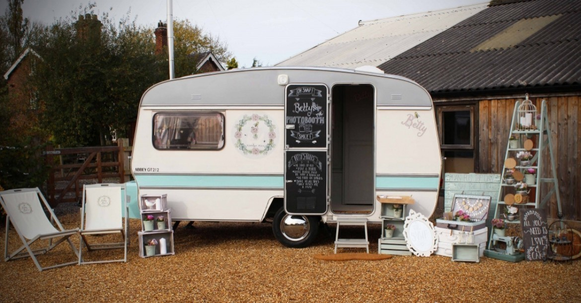 Vintage Photobooth Caravan