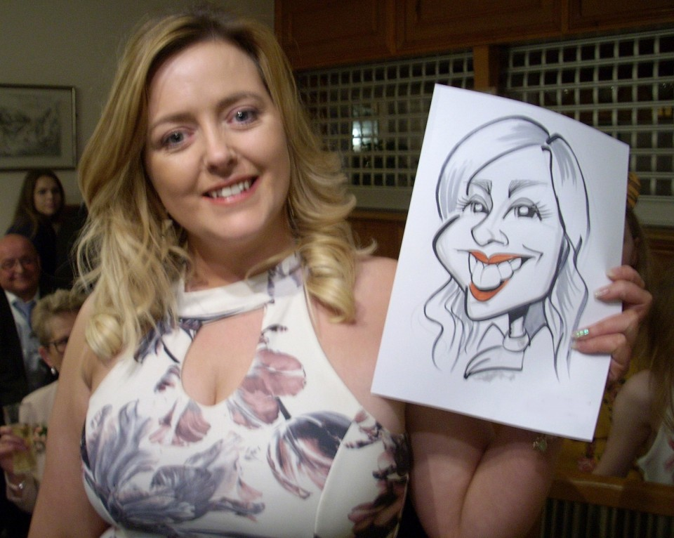 Kev the Caricaturist Gallery
