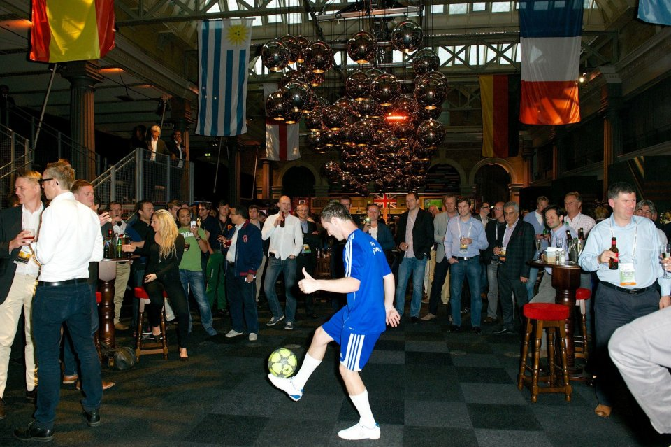 Football Freestyler Ash Gallery
