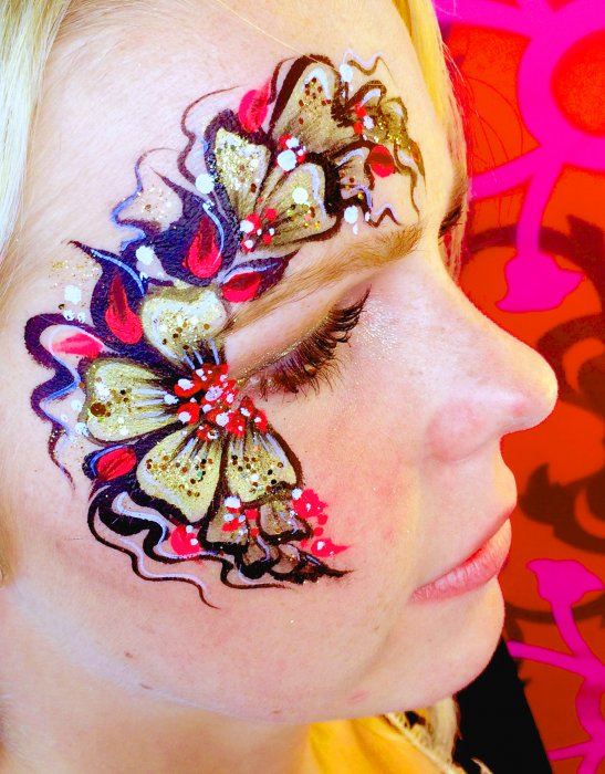 West Midlands Face Painter Gallery