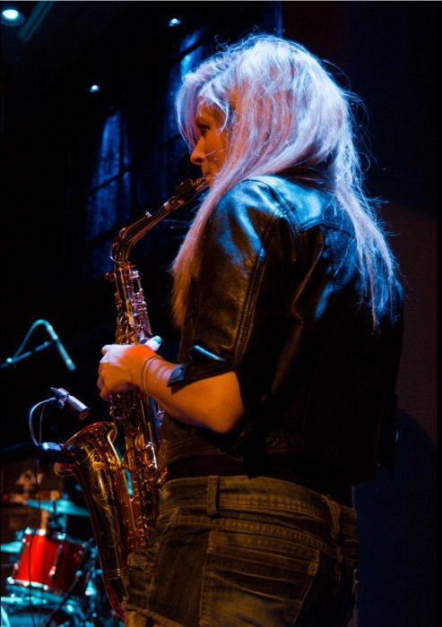 Abi Plays Sax Gallery