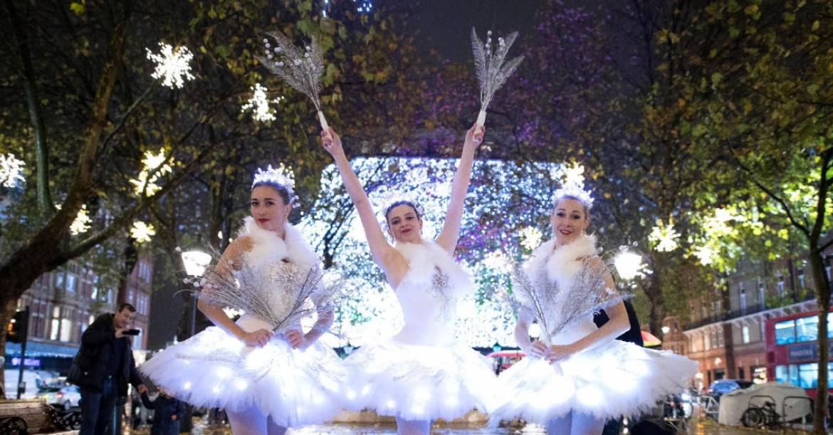 The Christmas Ballerinas