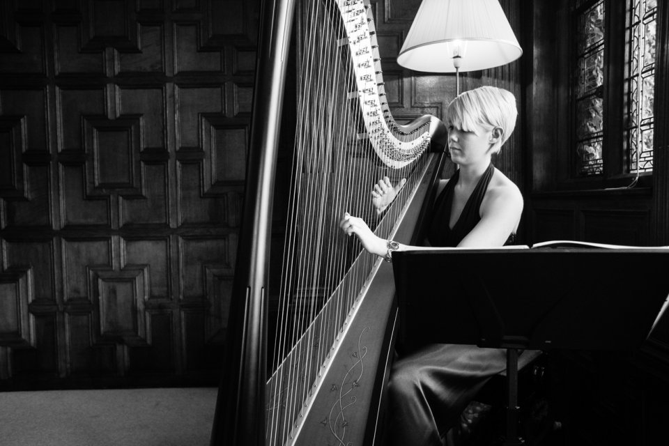 Lizzie The Harpist Gallery