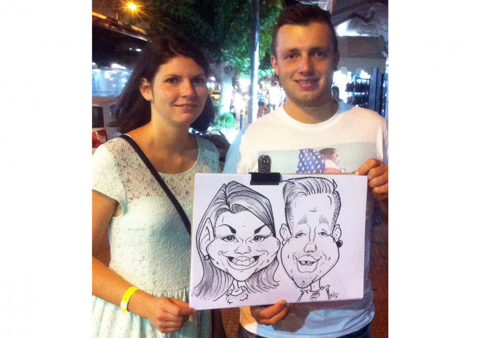 Tom The Caricaturist Gallery