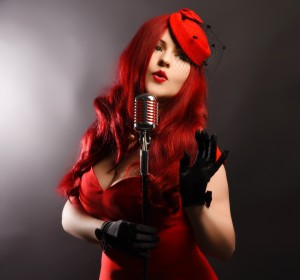Miss Ruby Rouge - Vintage Singer