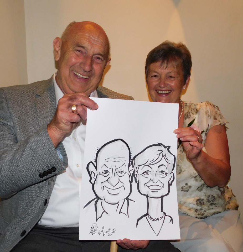 Looking4Laffs Caricatures Gallery