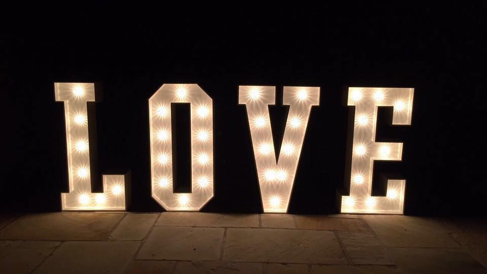 Light Up Letters - North West Gallery
