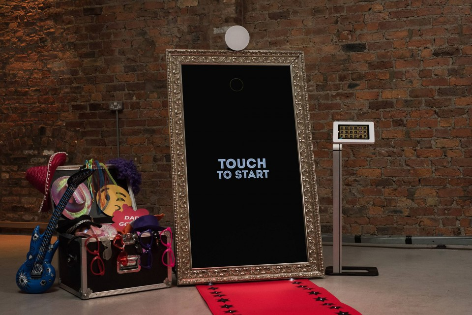 Magic Selfie Mirror Hire Gallery