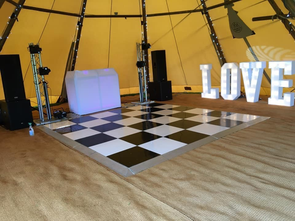 Dance Floor Hire - North West Gallery