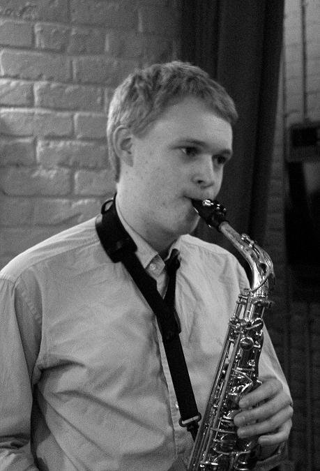 Paul Plays Saxophone Gallery