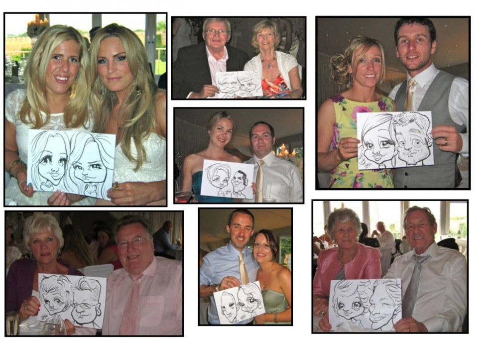 Adam The Caricaturist Gallery