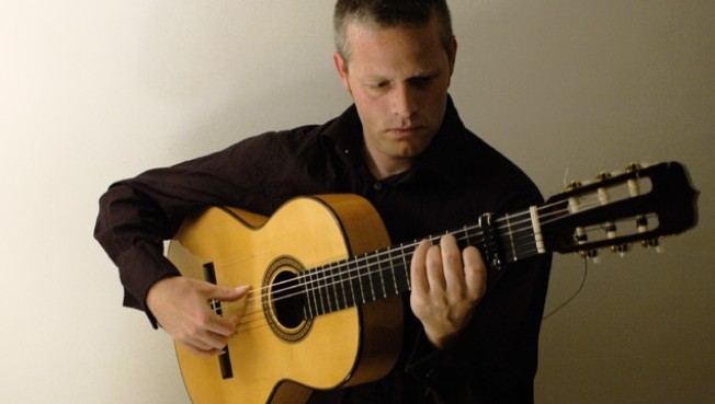Glenn Plays Flamenco Guitar